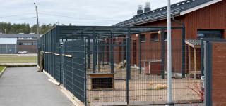 Kuvassa Turun kaupungin eläinhoitola