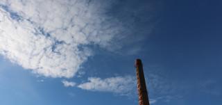 Piippu ja pilviä taivalla