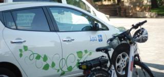 Sähköautot ja pyörät CIVITAS ECCENTRIC