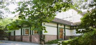 Biologinen museo, julkisivu
