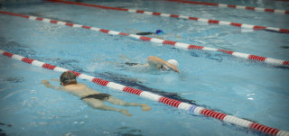 Uimareita Impivaarassa