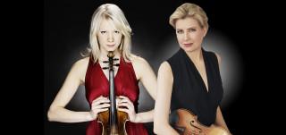 Elina Vähälä, viulu  Kreeta-Julia Heikkilä, viulu