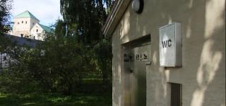 yleinen wc linnan lähellä