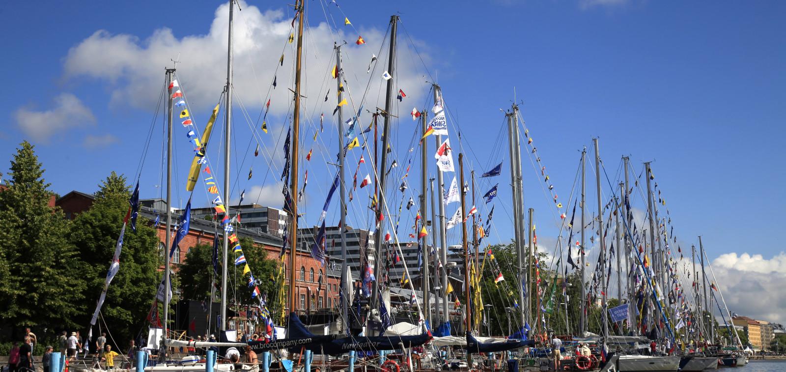 Tall Ships Races 2017 vierasvenesatama