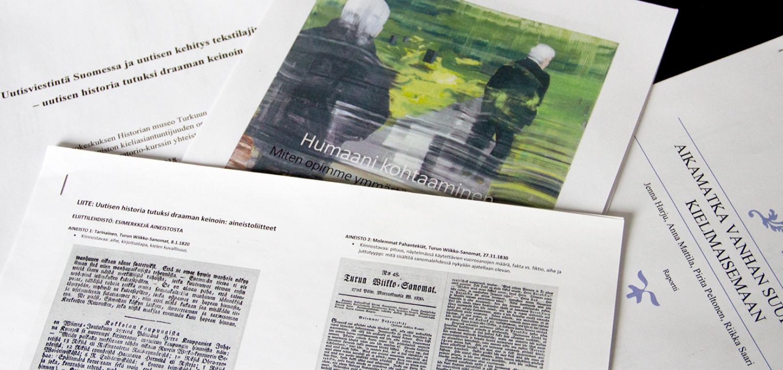 Yliopiston projektikurssin ja Museokeskuksen yhteistyö poiki monia ideoita