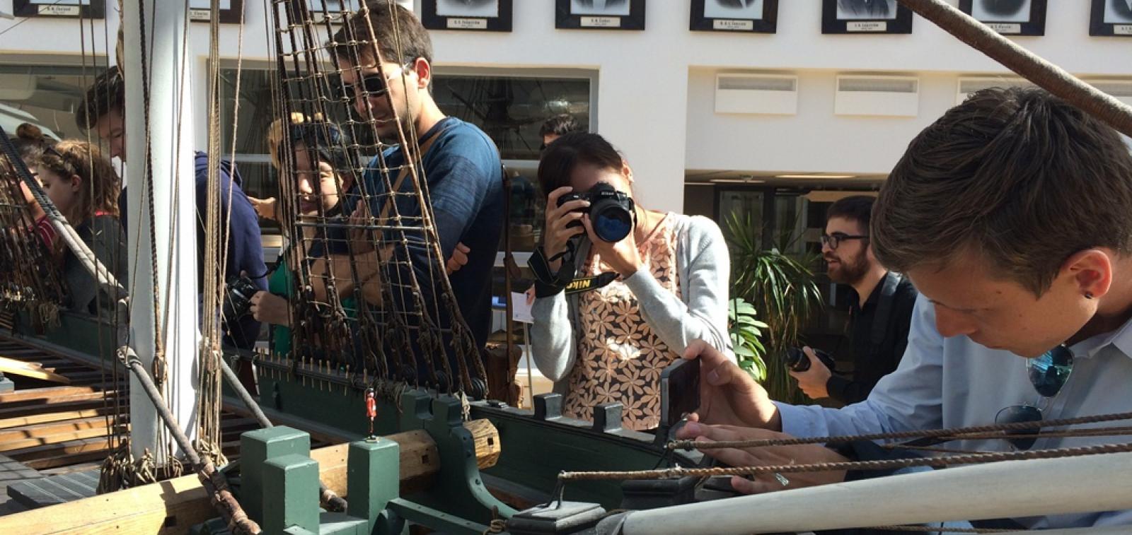 Kansainväliset toimittajat vierailulla Aboa Maressa