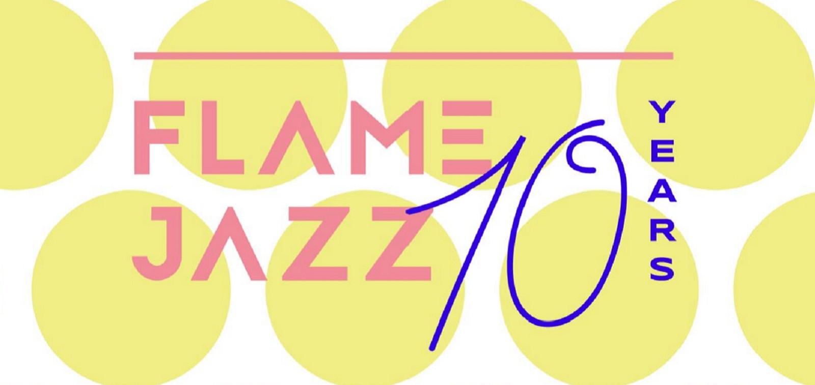 Flame Jazz 10 years! piirretty mainoskuva