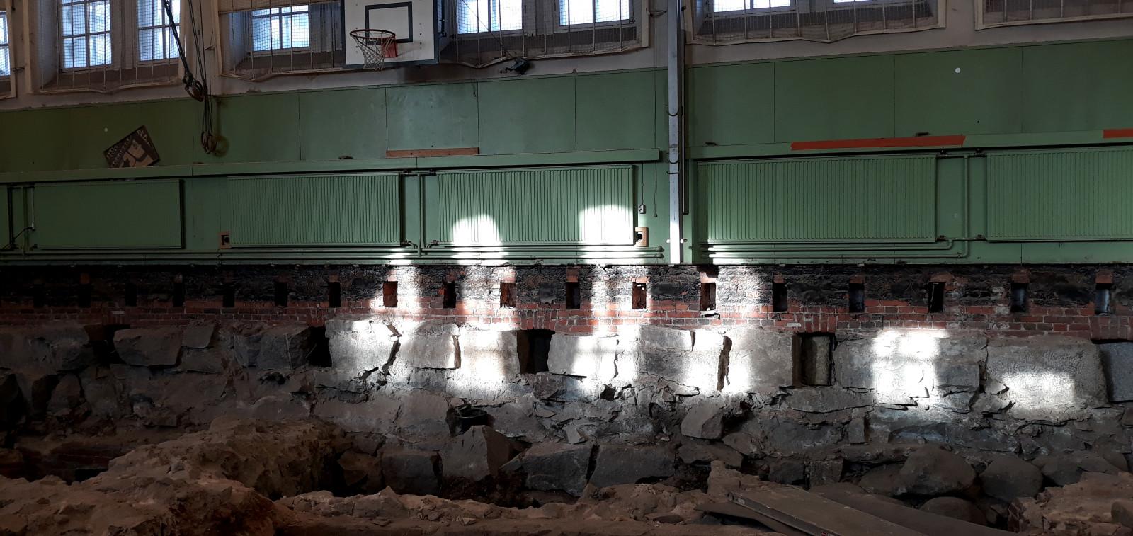 Katedralskolan i Åbon arkeologiset kaivaukset