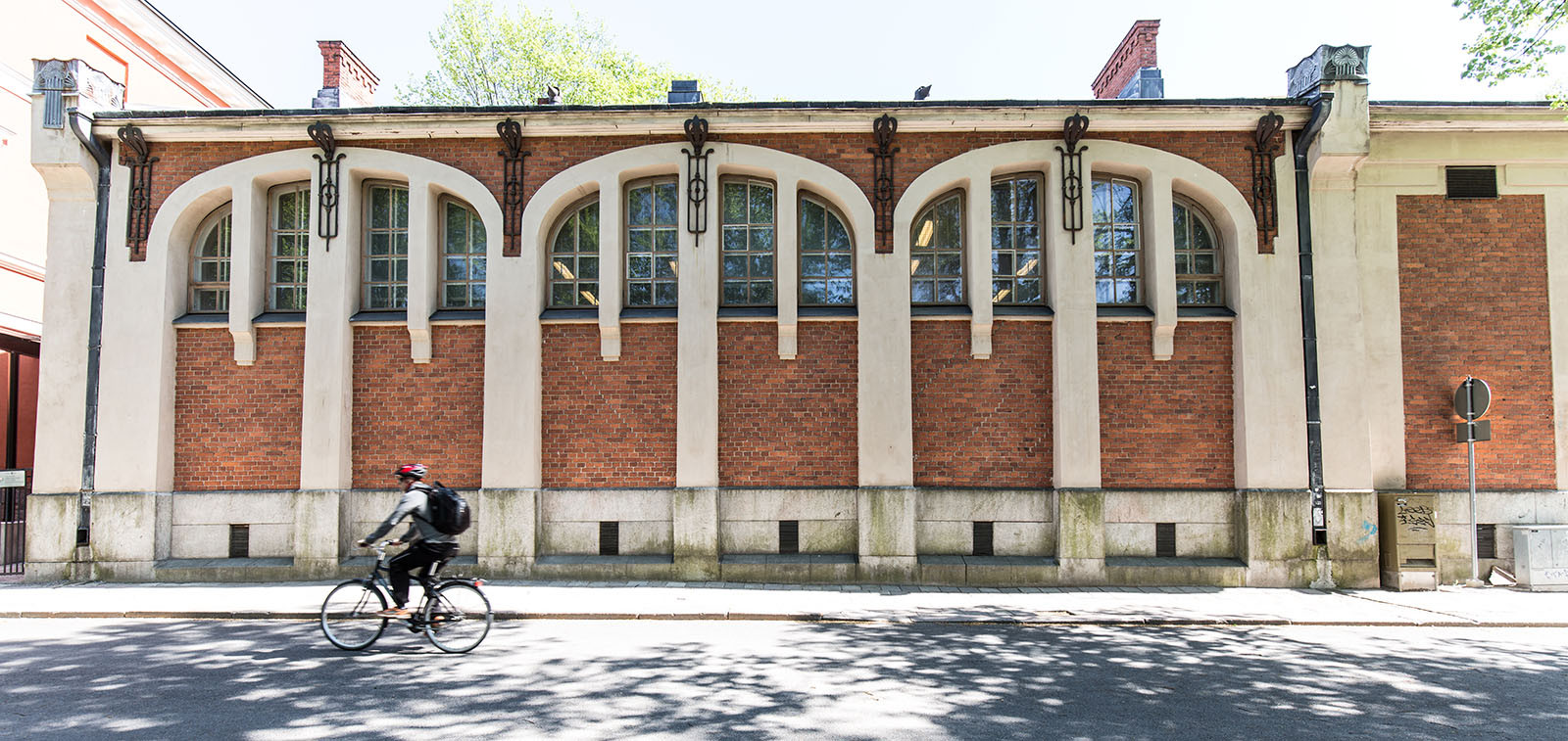 Katedralskolans gymnastiksal. Foto: Heikki Räisänen