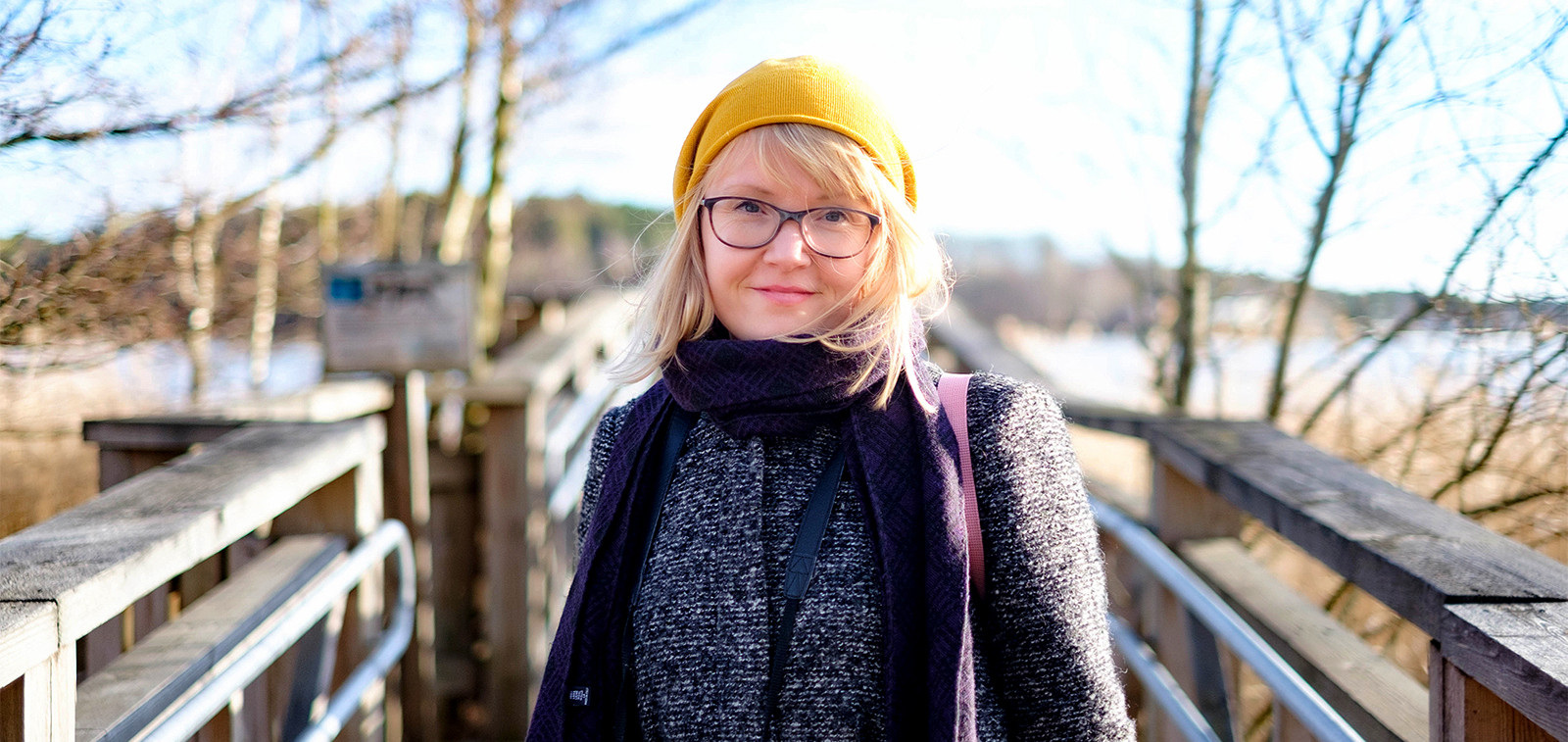 Kulttuurikorttilainen Johanna Slotte