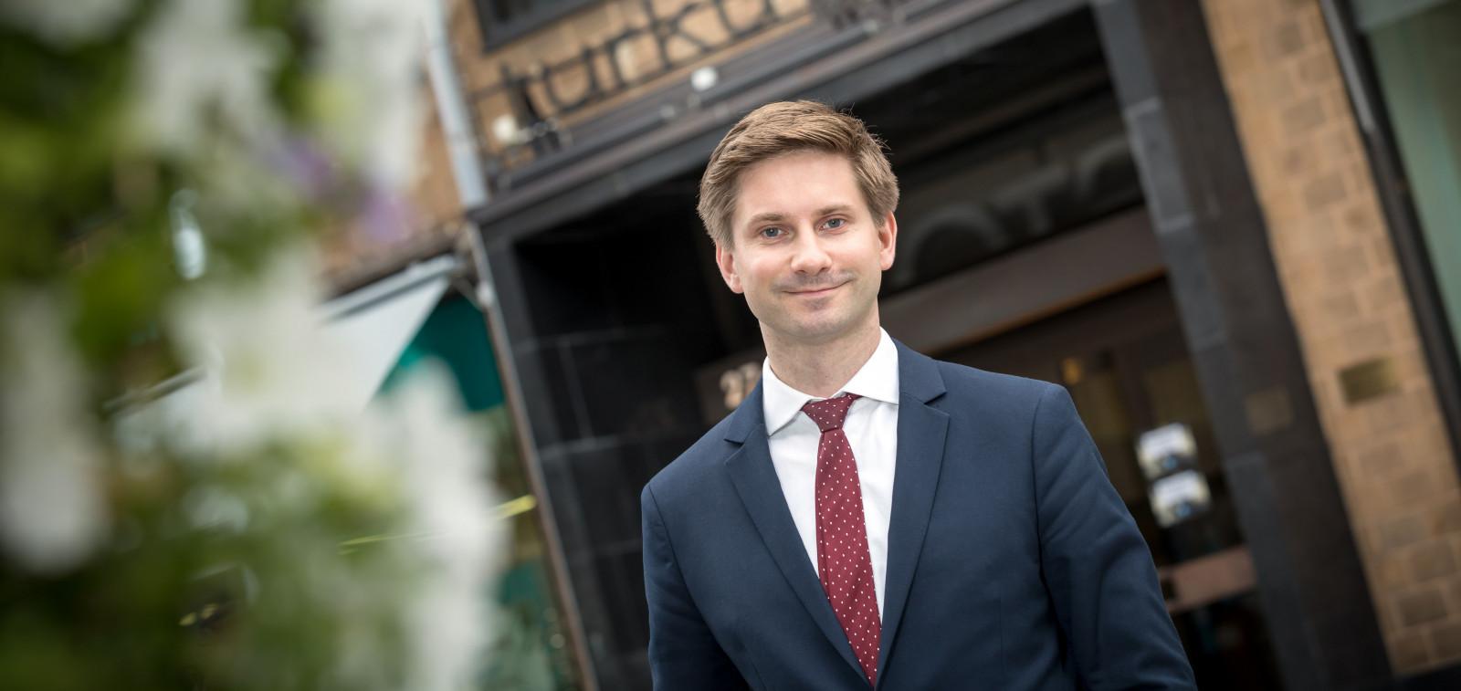 Turun kaupunginhallituksen puheenjohtaja Lauri Kattelus
