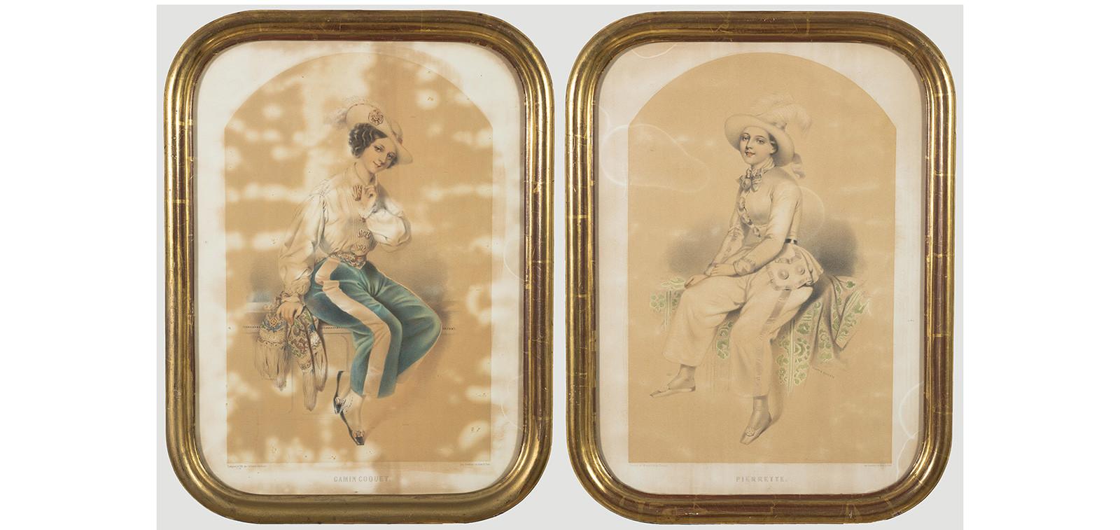 Célestin Deshays (n. 1817–1896): Gamin coquet, s.a. ja Pierrette, s.a.