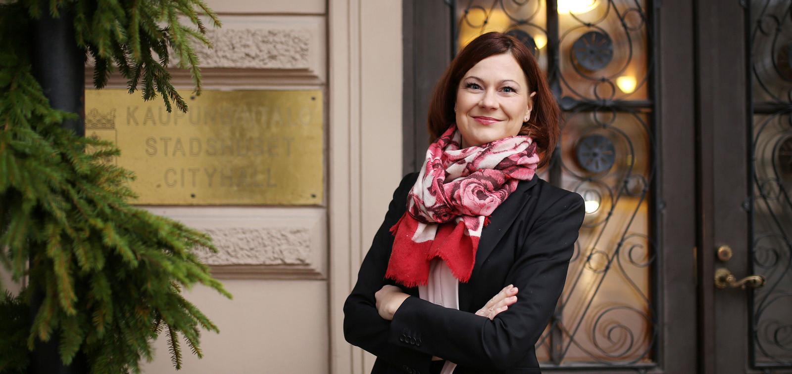 Turun kaupunginjohtaja Minna Arve