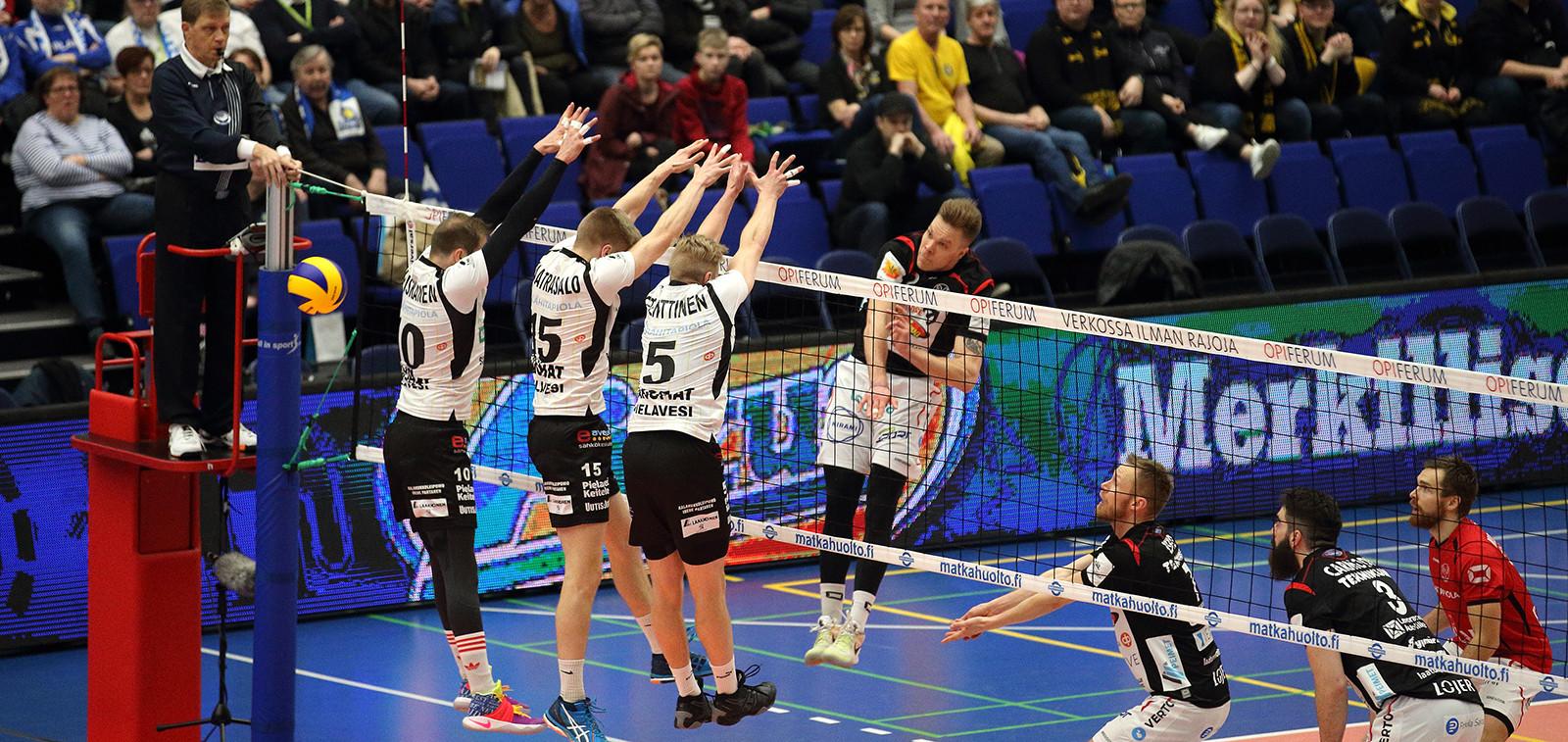 Lentopallon Suomen Cupin finaalit Turussa 5.-7.1.