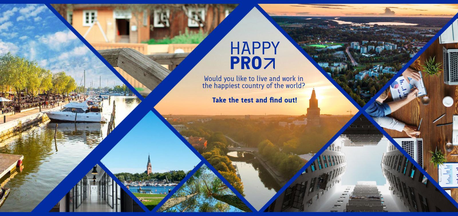 Happy Pro kampanjan kansikuva 2