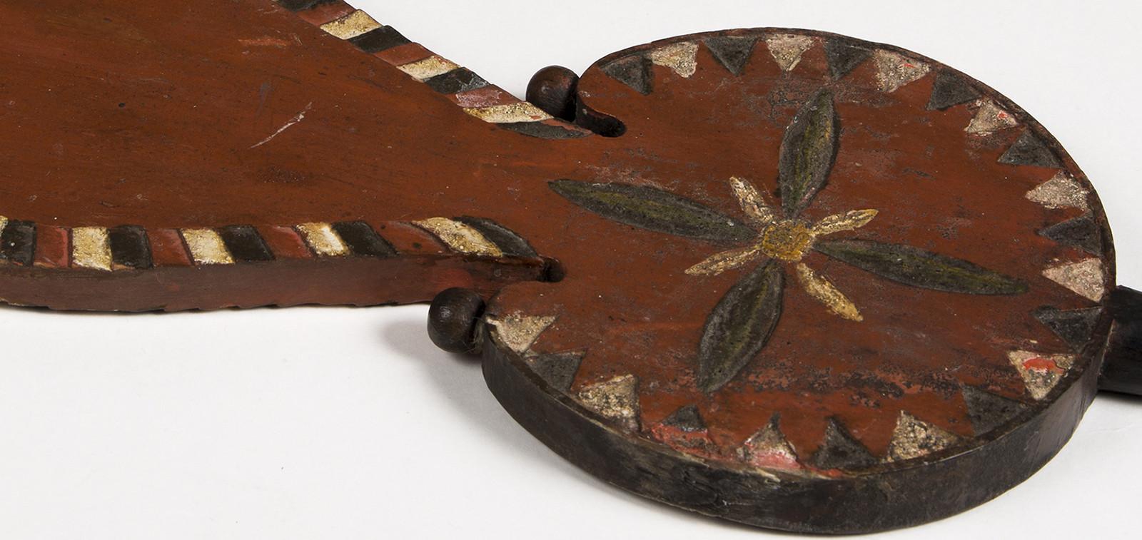 Rukinlapa Korppoosta, 1700-lukua (yksityiskohta)