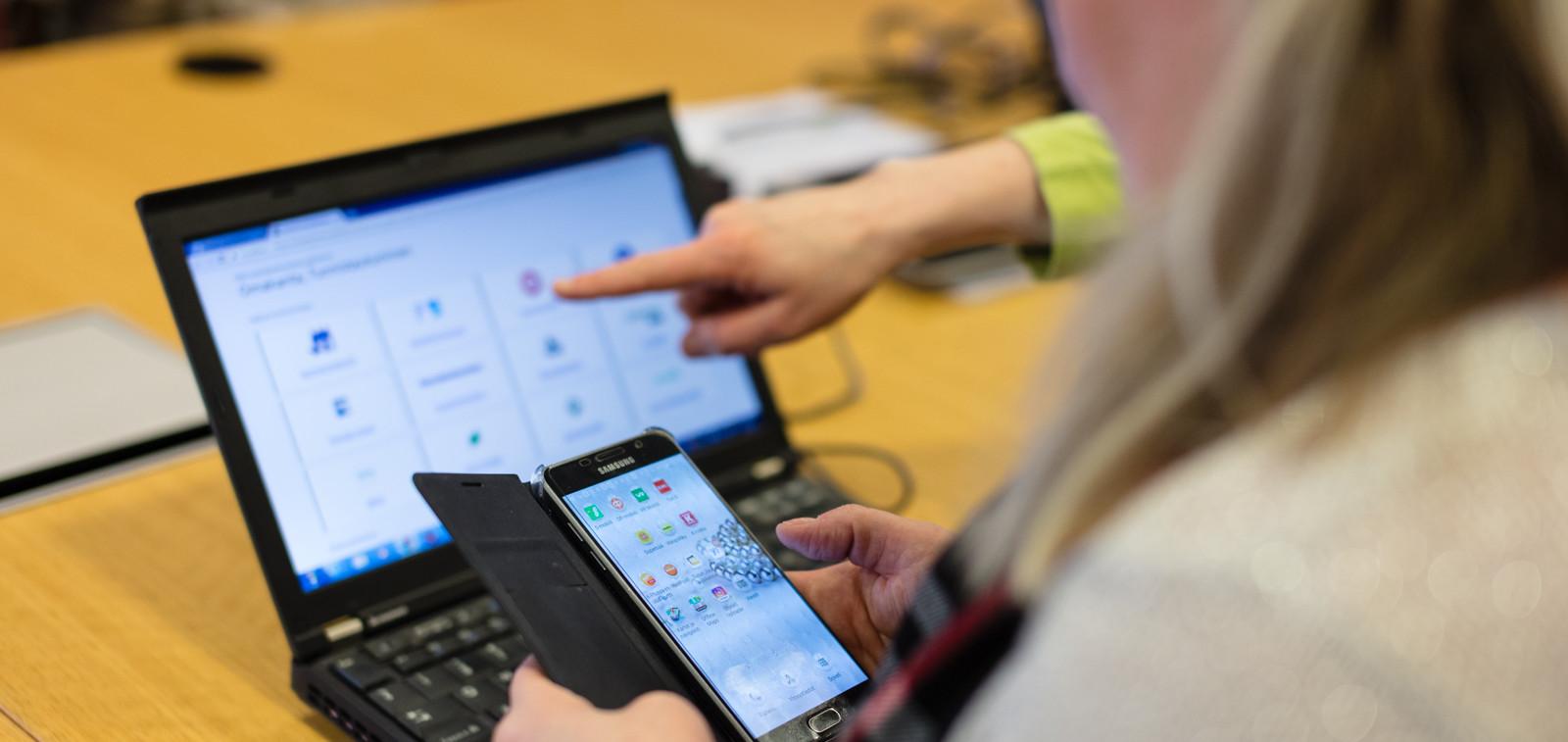 Suomi.fi-kirjautuminen verkkopalveluun