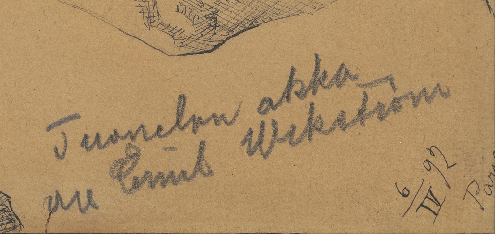 Kirjoitus: Tuonelan akka av Emil Wikström
