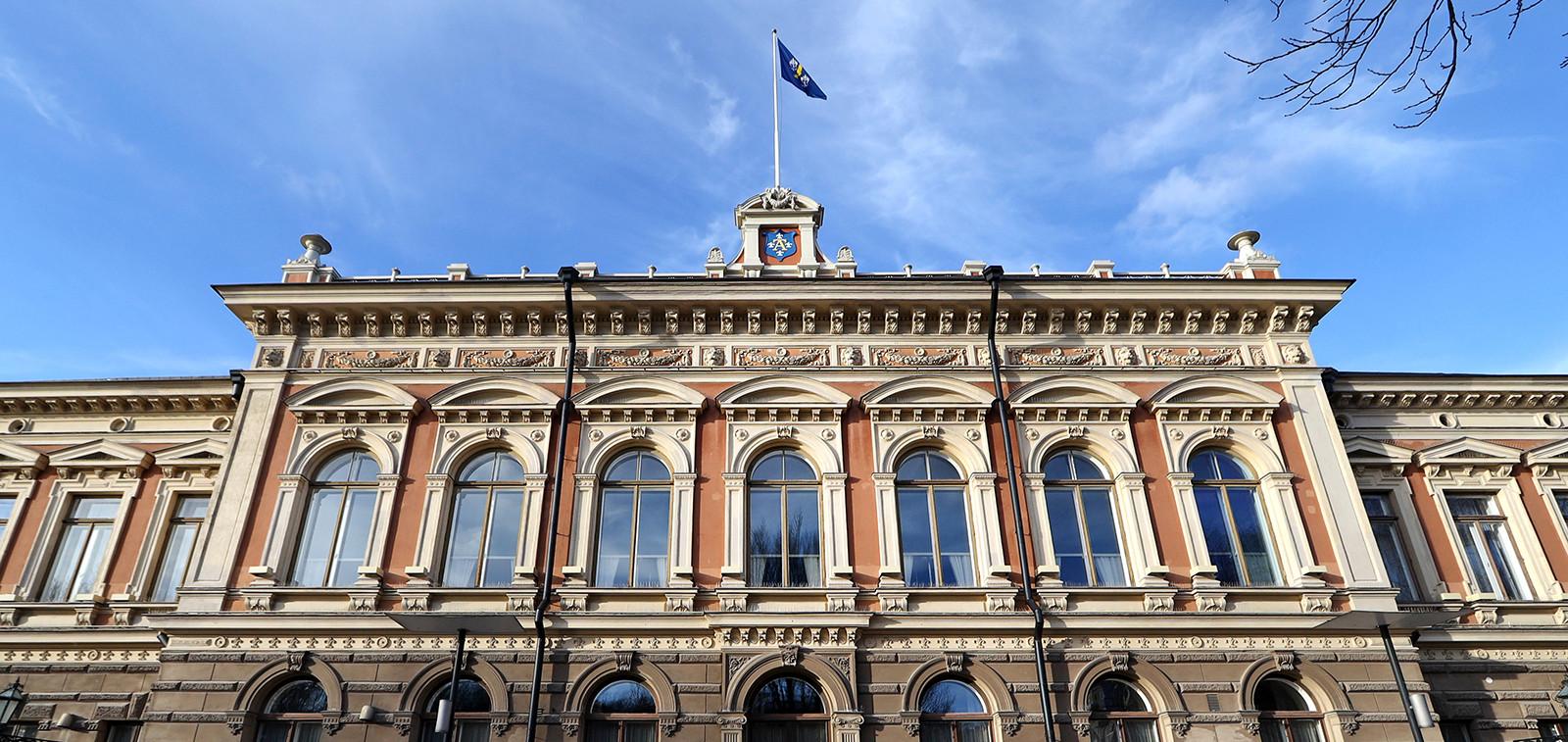 Turun kaupungintalon julkisivu
