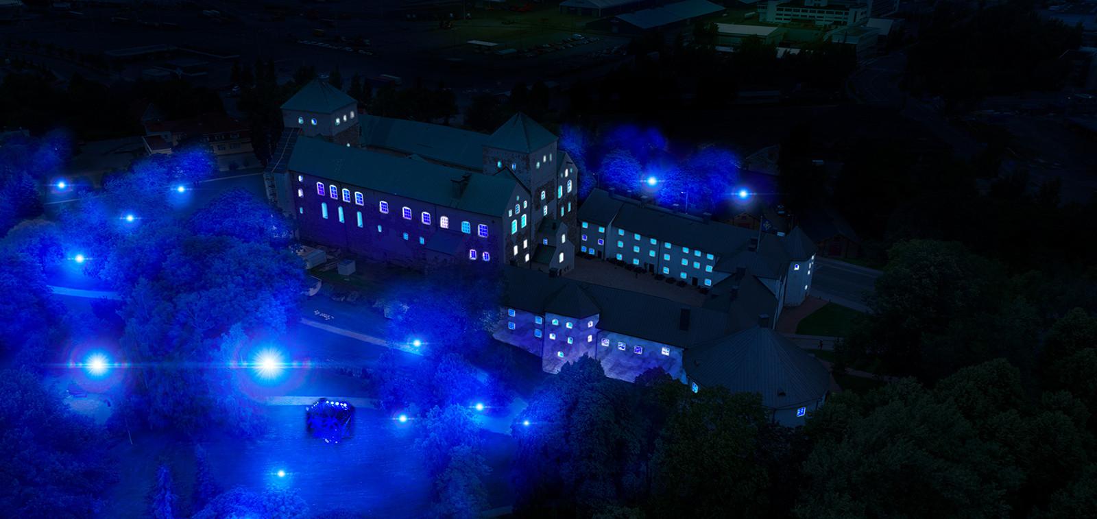 luminous turun linna