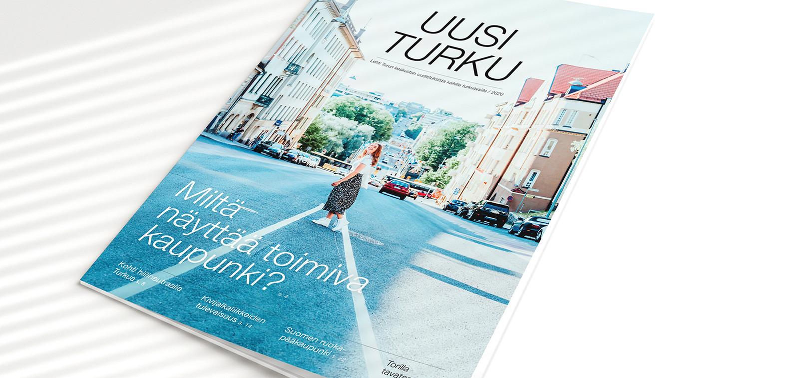 Uusi Turku -lehden kansi.