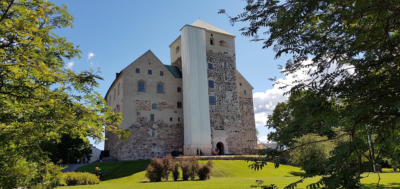 Turun linna kesällä 2020