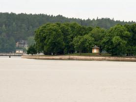 Kuvassa näkyvälle laiturille kulki aiemmin julkinen veneliikenne.