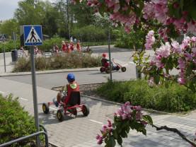 Seikkailupuiston Liikennekaupungissa käydään toukokuussa kevätretkillä