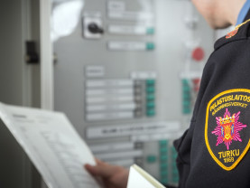 Pelastuslaitos tarjoaa palotarkastuspalveluja