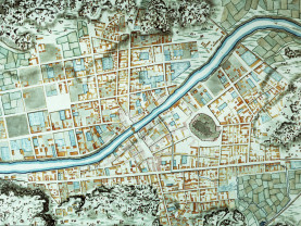 Turun kartta vuodelta 1741